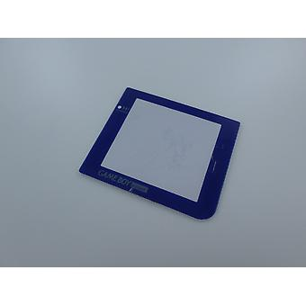Screen lens for game boy pocket nintendo plastic cover replacement - blue | zedlabz
