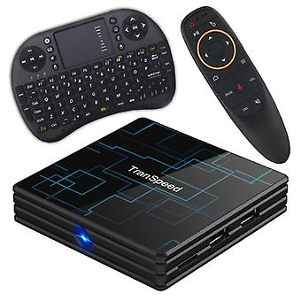 Stuff Certified® Transpeed 4K TV Box Media Player Android Kodi - 4GB RAM - 32GB Storage + Bezdrátová klávesnice