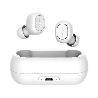 QCY QCY T1C Wireless Bluetooth 5.0 Earpieces In-Ear Wireless Buds Earphones Earbuds Earphone White - Clear Sound