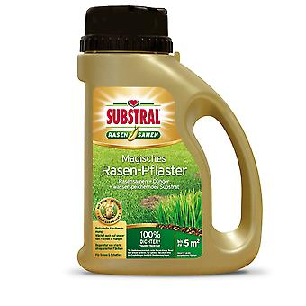 SUBSTRAL® Magisches Rasen-Pflaster, 1 kg