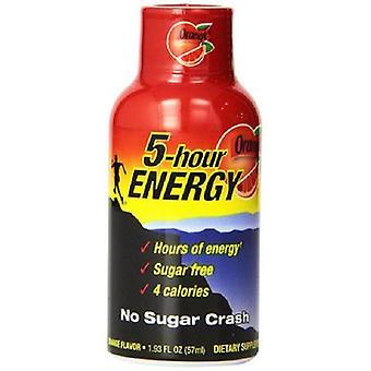 5 hr energi oransje smak-( 60 ml x 12 flasker )