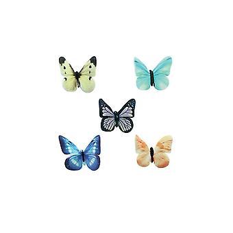 SugarSoft verschiedene Schmetterlinge - 30mm