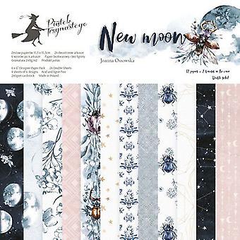"""Piatek13 6""""x6"""" Paper Pad - New Moon, 24 Sheets"""