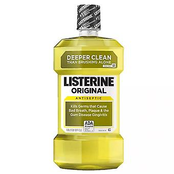Listerine original antiseptic mouthwash, original, 1 l