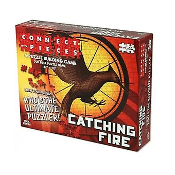 Hunger Games Catching Fire Connect With Pieces Puzzle Building Game