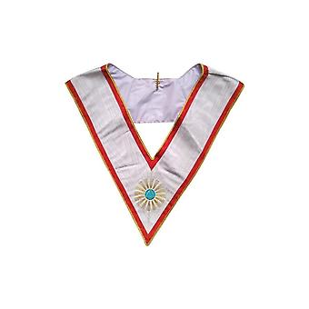 Masonic collar – french chapter – 5th order
