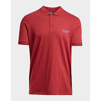 New Mckenzie Men's Essential Polo Short Sleeve Shirt Red