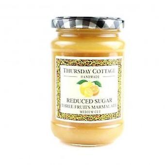 Thursday Cottage Reduced Sugar Three Fruits Marmalade - Thursday Cottage Reduced Sugar Three Fruits Marmalade