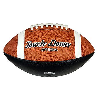Midwest Touch Down Rubber American Football Ball Tan Official Size