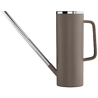 Blomus watering can LIMBO taupe combined plastic with stainless steel 1.5 L capacity