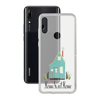 Capa móvel Huawei P Smart Z Contact Flex Home TPU