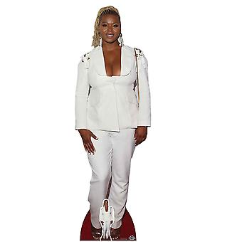 Claire Sulmers Celebrity Lifesize kartonnen uitsparing/Standee