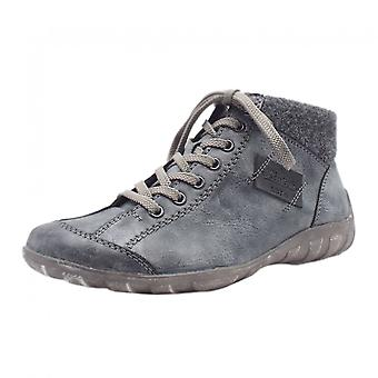 ريكر L6540-24 ريفاج رياضي الشتاء أحذية قصيرة في كومبي الأزرق