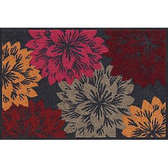 Salonloewe Doormat Bonny Blossom 50 x 75 cm washable dirt mat
