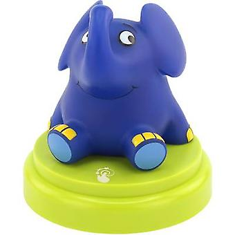 Ansmann Elephant 1800-0017-510 LED night light Elephant LED (monochrome) Blue