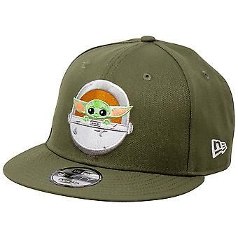 Star Wars Mandalorian The Child Green 9Fifty New Era Cappello