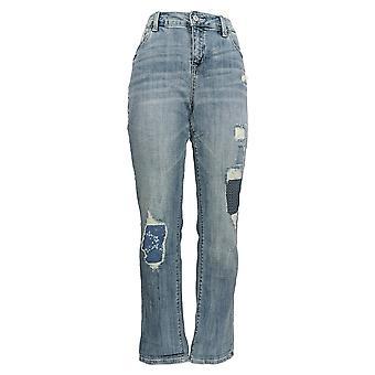 Laurie Felt Women's Jeans Classic Denim Underpatch Weekender Blue A310006