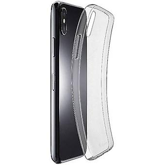 Cellularline Fine Back cover Apple iPhone XS Max Transparant