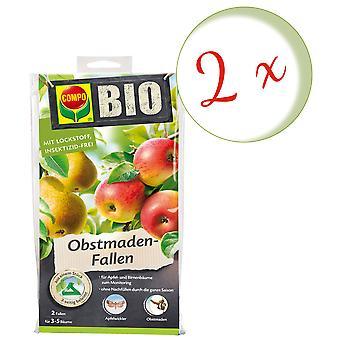 Sparset: 2 x COMPO BIO Fruit Made Traps, 2 pieces