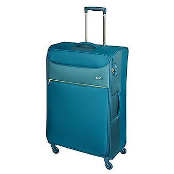 d&n Travel Line 6304 Trolley M, 4 wielen, 69 cm, 77 L, turquoise
