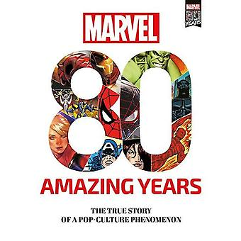 Marvel 80 Amazing Years by Marco Rizzo - 9781846532627 Book