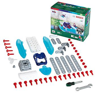 theo klein bosch 3in1 watercraft team construction set 3 water craft vehicles