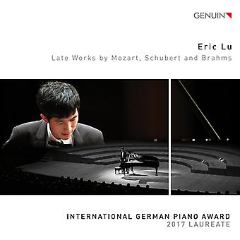 Brahms / Lu - Late Works by Mozart [CD] USA import