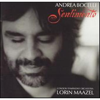 Andrea Bocelli - Sentimento [CD] USA import