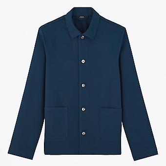 A.P.C. - Kerlouan Jacket - Marine Blue