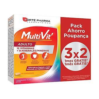 Energy Multivit Adult 84 tabletten