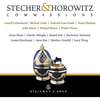 Brown / Han / Weng - Stecher & Horowitz Commissions [CD] USA import