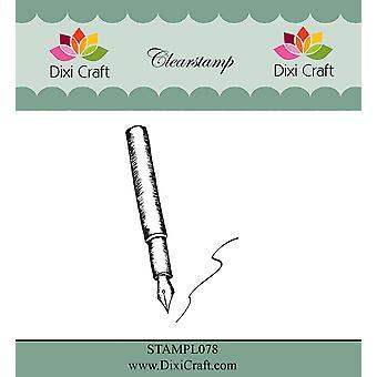 Dixi Craft Fountain Pen Kirkas leima