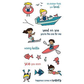 LDRS Creative Float su barco Sellos Claros