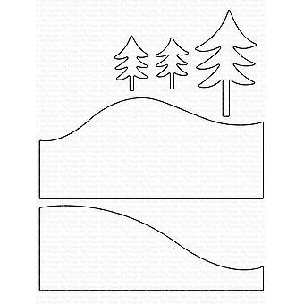 Suosikkini Asiat Snowy Hillside Die-namics