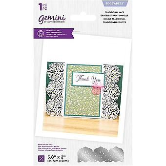 Gemini Traditional Lace Edgeables Die