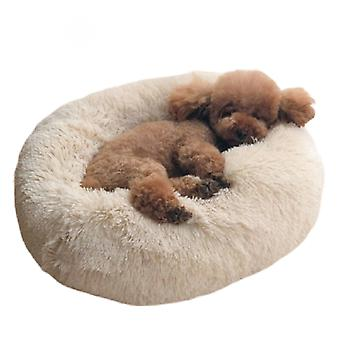 Pet Cat Warm Round Beds Pet Cushion Cats Sofa Kennel House Dog Beds