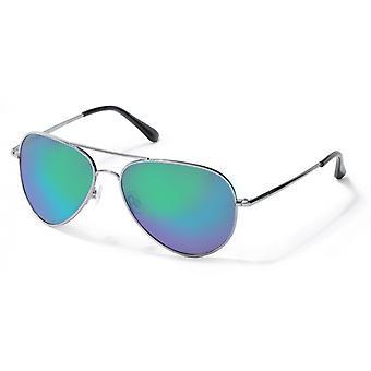 نظارات شمسية للجنسين P4139 N5Y/ K7 الأخضر