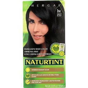 Naturtint Permanent Hair Color 1N Ebony Black