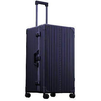 """ALEON internacional Trunk 30"""" Trolley 4 ruedas, 43 cm, 84 L, Azul"""