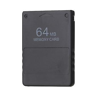Black 64mb 64m Memory Card Gamesaver Data Stick Module For Sony Ps2  (black)