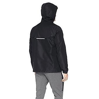 Peak Velocity Men's Zephyr Windbreaker Loose-Fit Jacket, black, Large