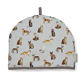 Cooksmart Curious Cats Tea Cosy