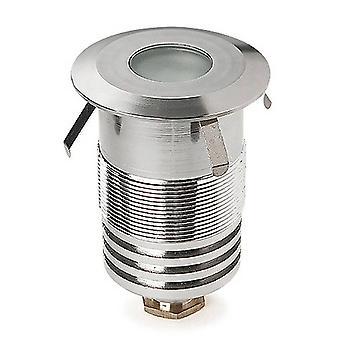 Leds-C4 Gea - Extérieur LED Encastré Ground Uplight Acier inoxydable Poli 6cm 162lm 3000K IP67