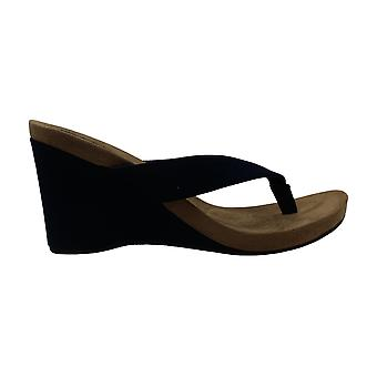 Style & Co. naisten chicklet kangas Split toe rento Platform sandaalit
