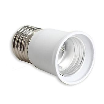 E27 To E27 Extension Socket Base Clf Led Light Bulb Adapter Converter