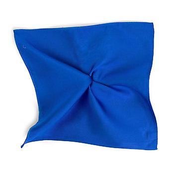 Kravaty Planet Plain Royal Blue Hodvábne Vreckové námestie Vreckovka By Tresanti