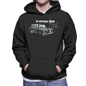 Austin Classic Taxi British Motor Heritage Men's Hooded Sweatshirt