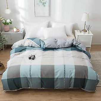 dual-sided Duvet Cover  soft Comfortable Cotton Printing Comforter -textiles Quilt Cover set 13