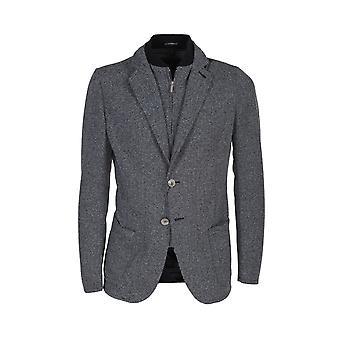Emporio Armani 91g56s91s11991 Men's Grey Nylon Blazer