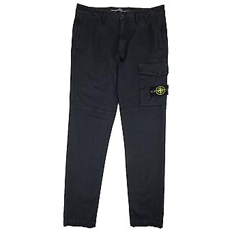 Stone Island Pocket Cargo Trousers Navy V0120